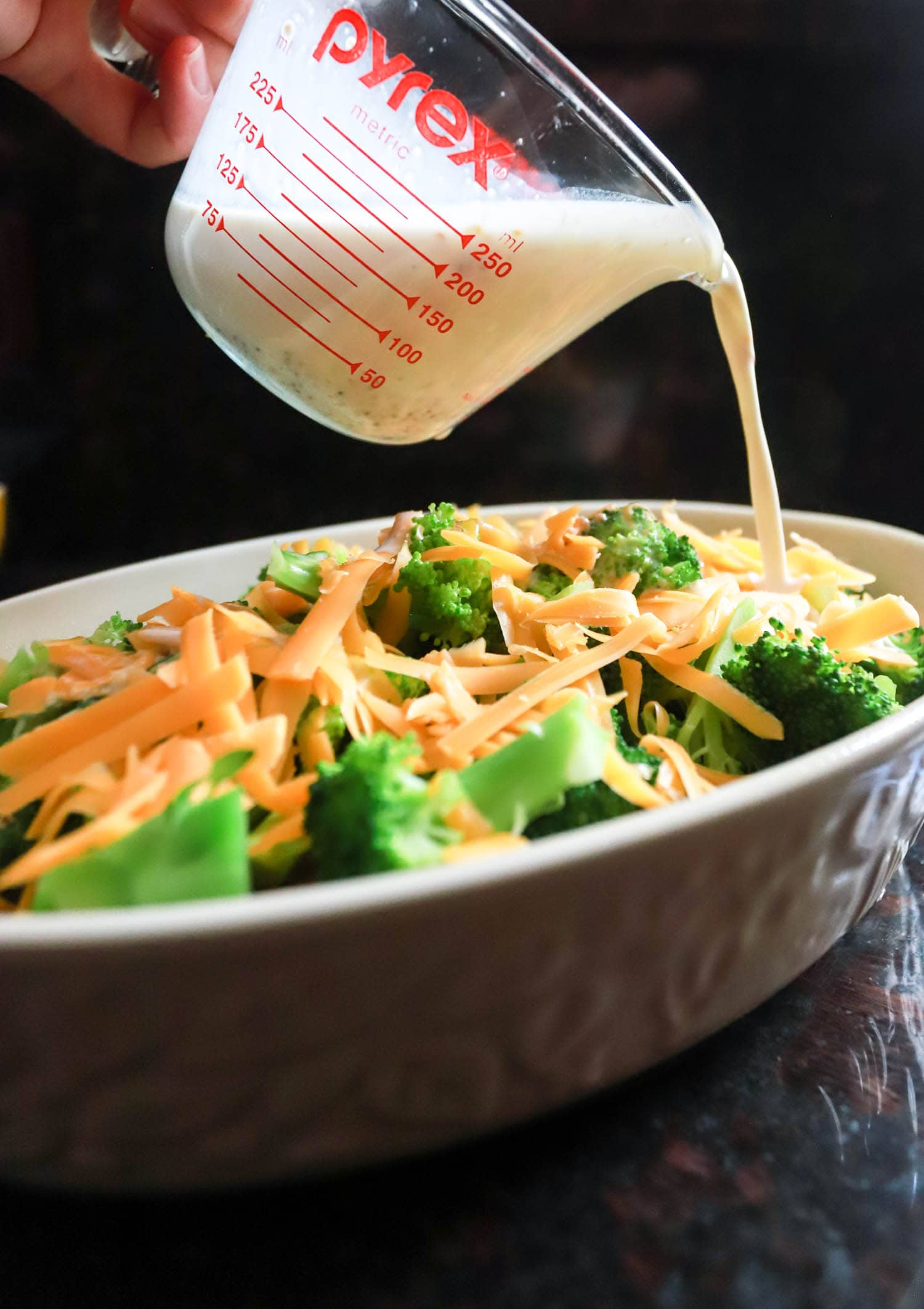 creamy baked broccoli recipe