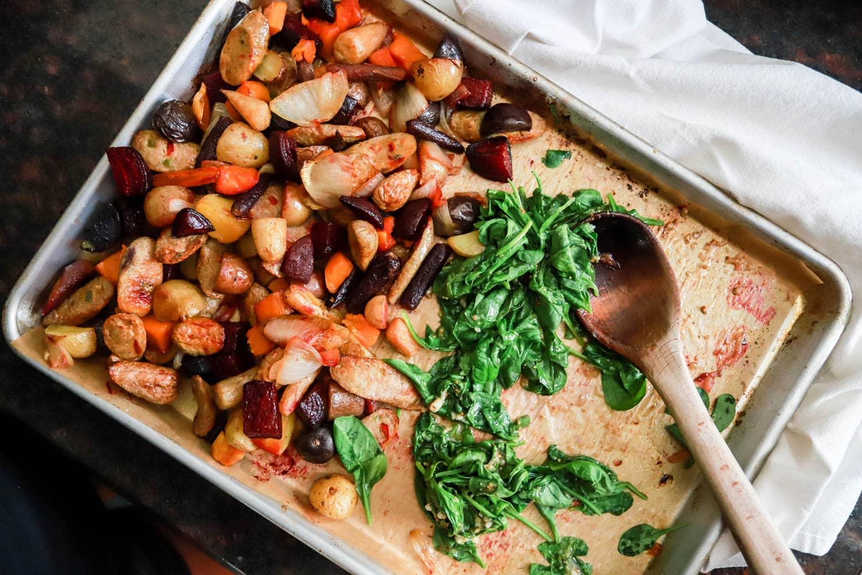 sheet pan dinner recipes easy