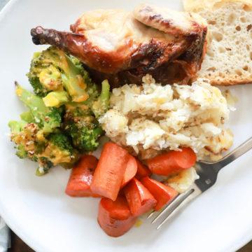 Small Thanksgiving Dinner Menu