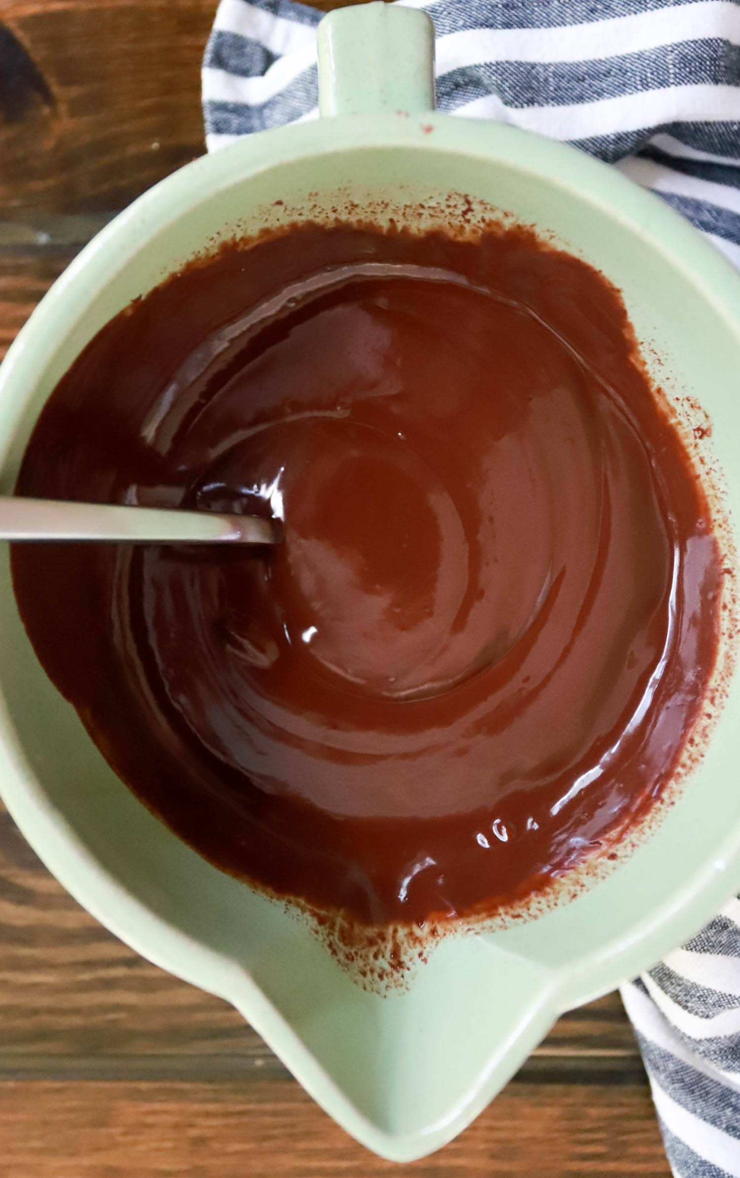 filling for chocolate pie no bake