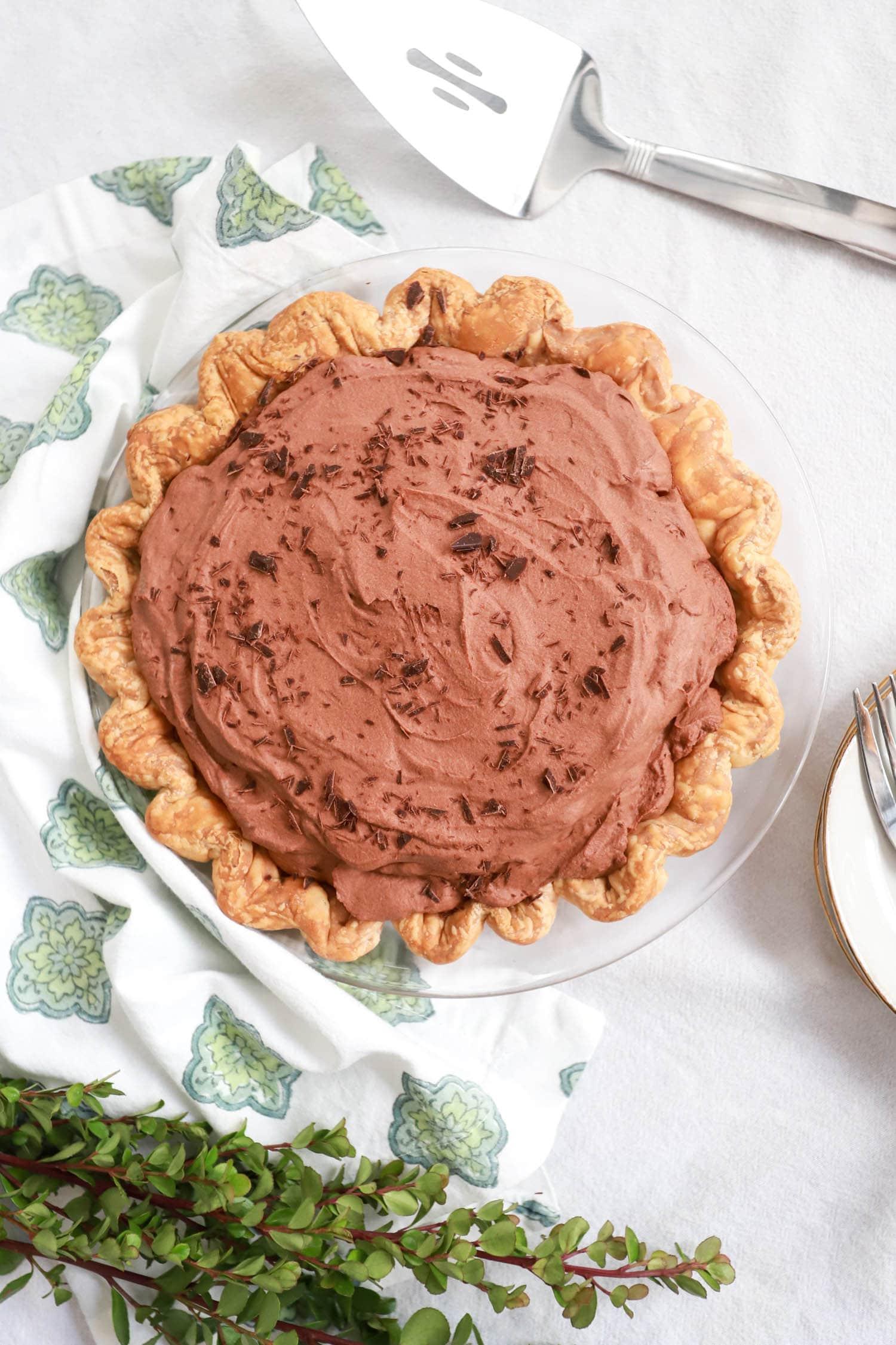 no bake chocolate pie recipe
