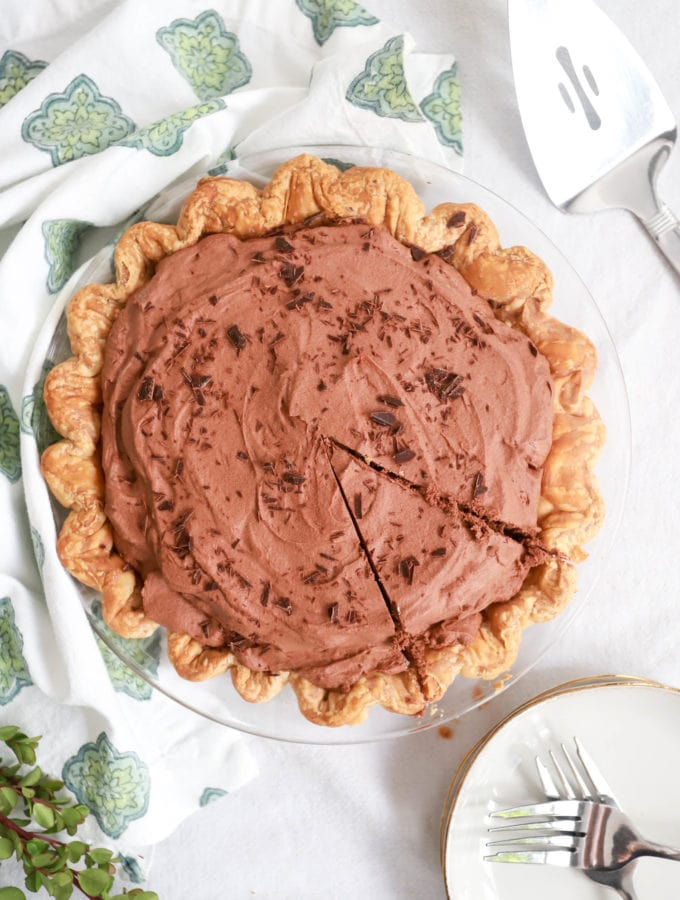 no bake chocolate pie recipe