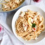 lobster pasta cream sauce