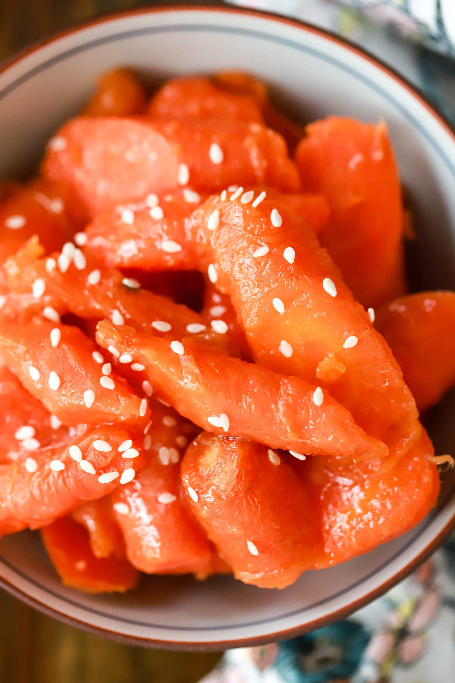 image of japanese sweet carrots