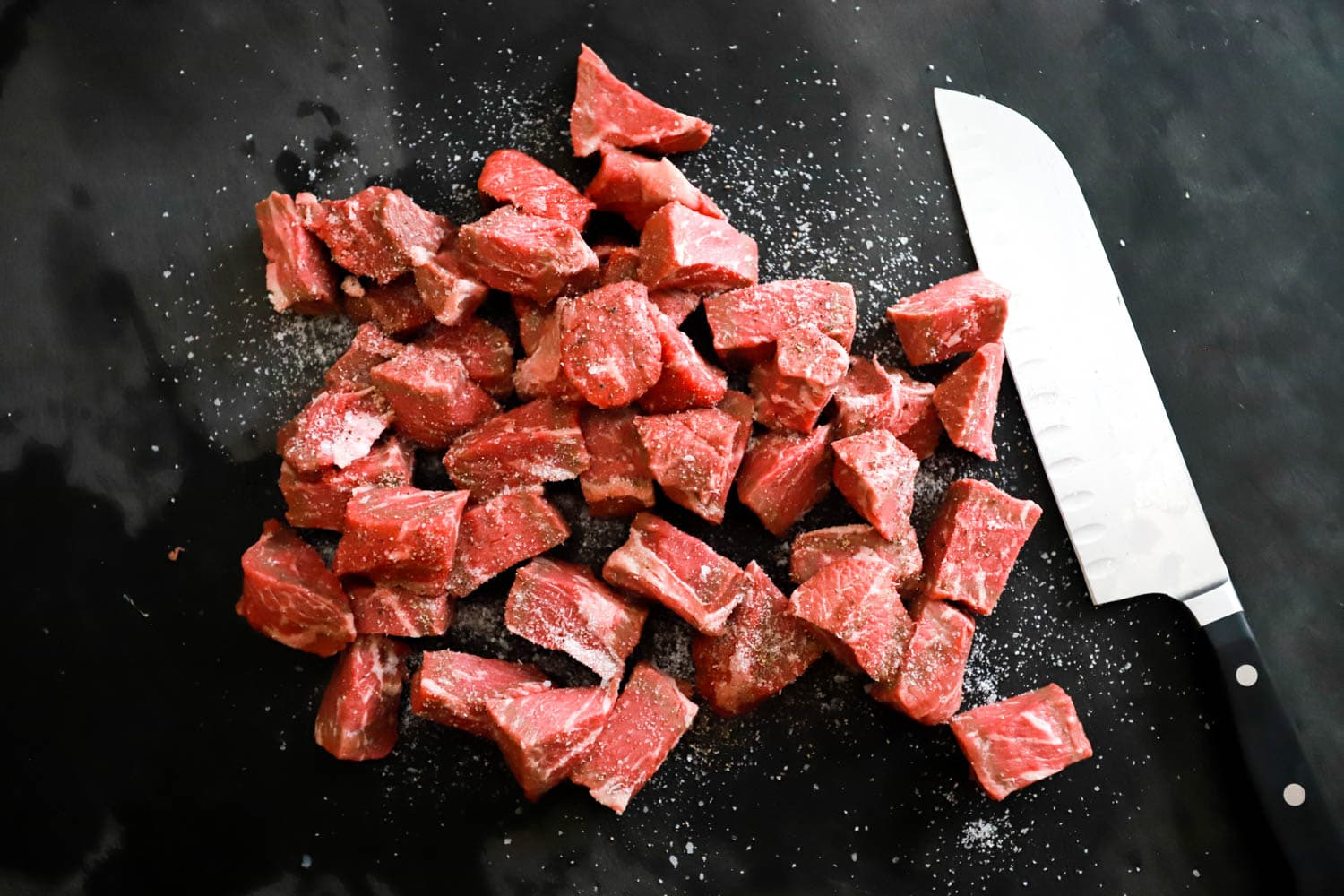 sirloin steak cubes