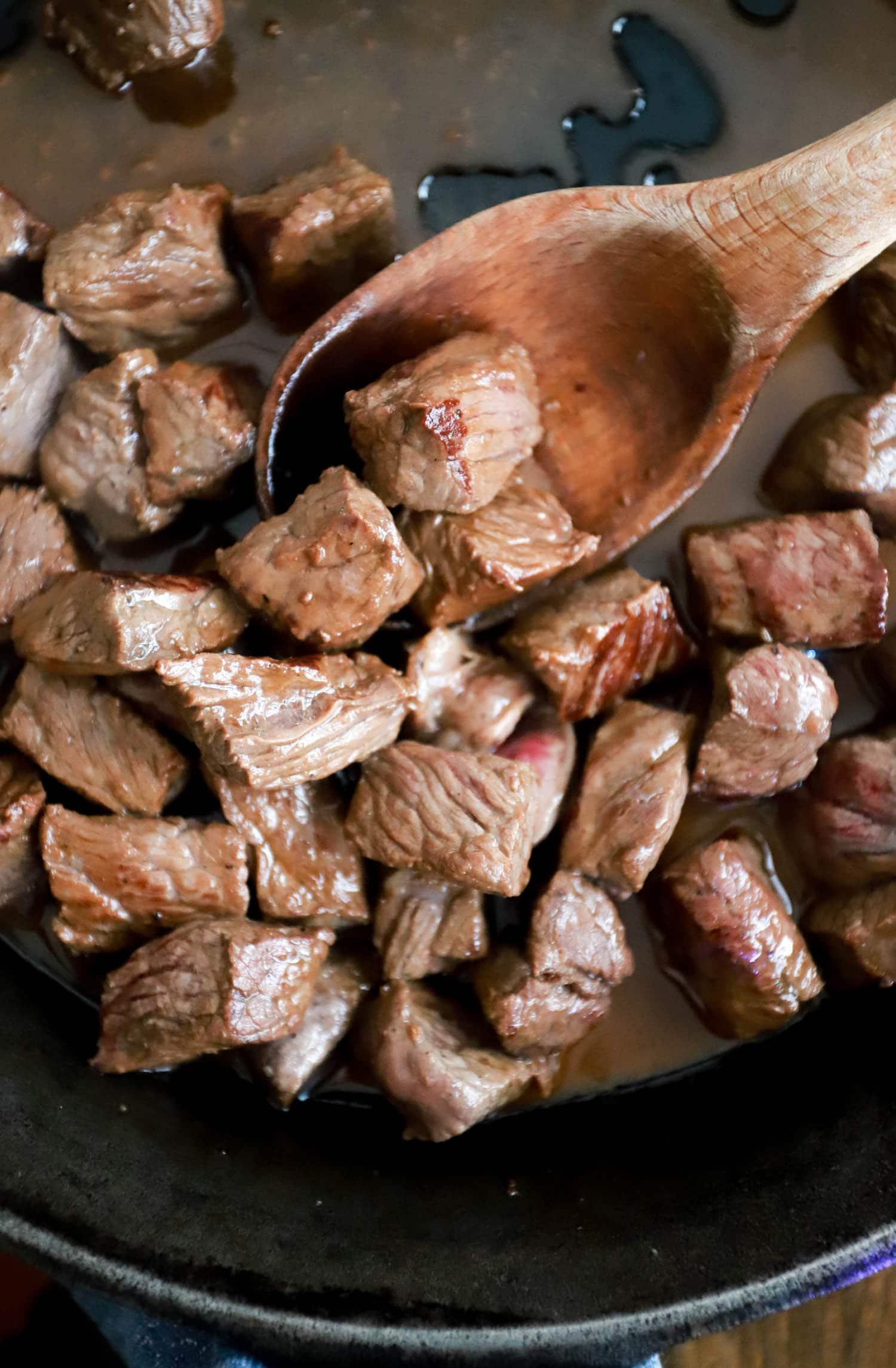 homemade hibachi steak