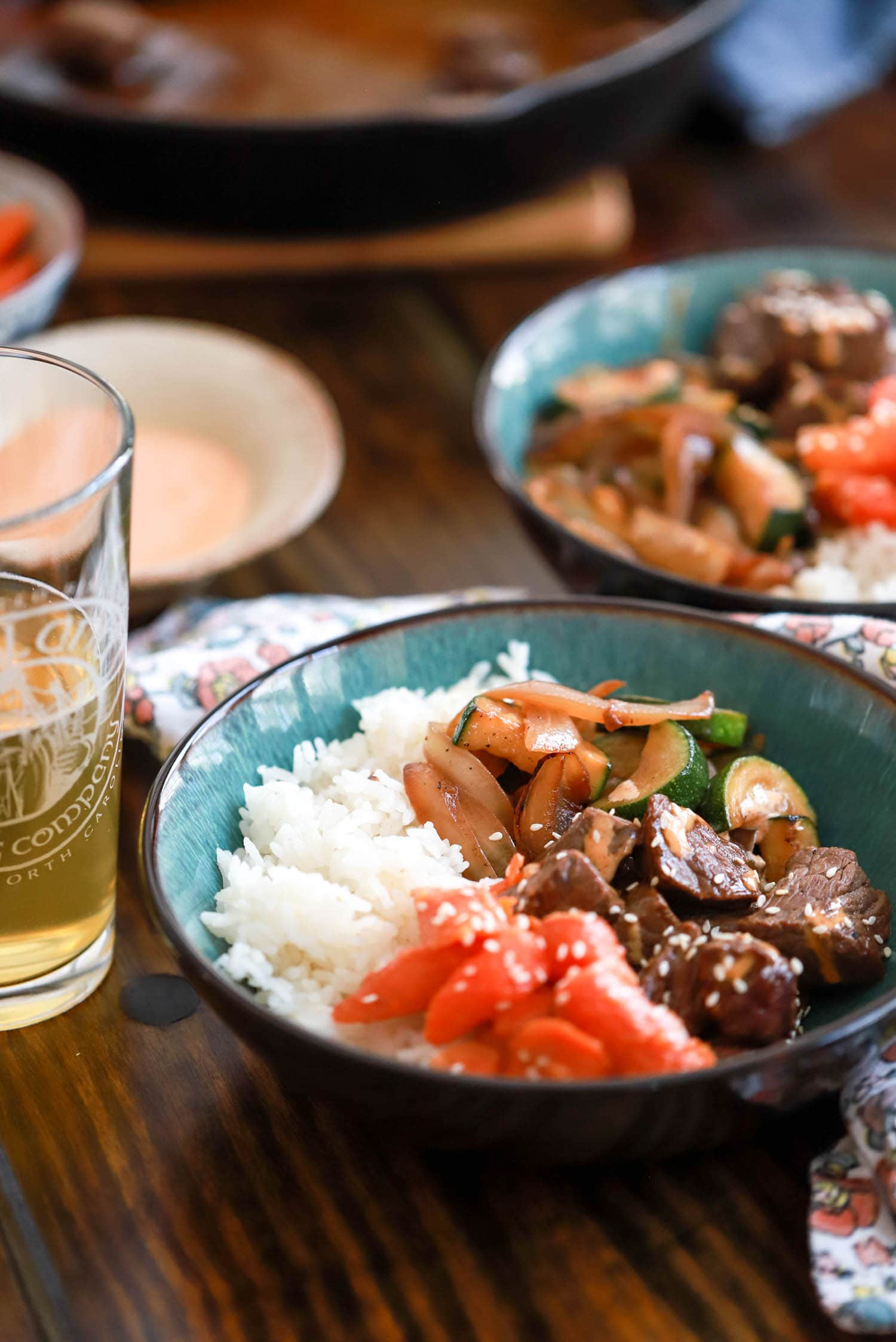 homemade hibachi bowls